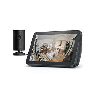 Echo Show 8 + Ring Indoor Cam, Black and White Variants - £69.99 @ Amazon