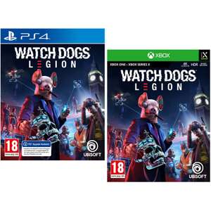 Watch Dogs: Legion PS4 / Xbox One £32.99 Delivered @ Currys