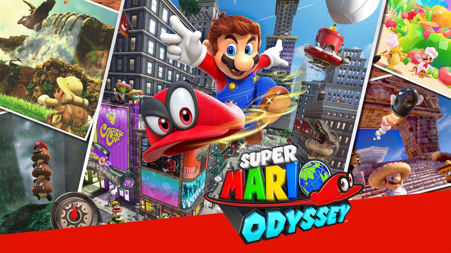 Super Mario Odyssey Refurbished (Nintendo Switch) pre-owned £29.99 @ ebay / MusicMagPie
