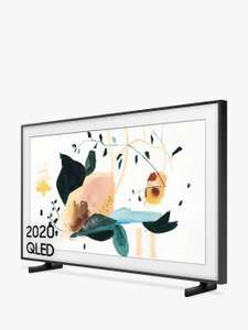 Samsung The Frame (2020) QLED Art Mode TV with No-Gap Wall Mount, 50 inch £899 - 5 year guarantee @ John Lewis & Partners