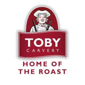 Toby carvery Buy a £20 gift card online via the app and get 5 extra free