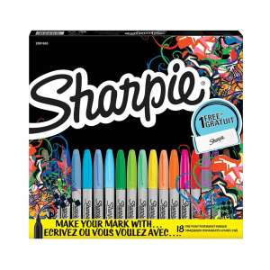 Sharpie Fine Permanent Markers Limited Edition Pack of 18 Assorted - £6.99 C&C @ Ryman