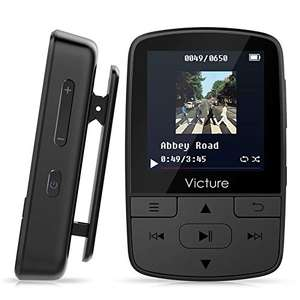 Victure Bluetooth MP3 Player 16GB Clip Sport - £17.59 (+£4.99 Non Prime) @ sold by Sonha and fulfilled byAmazon