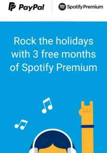 3 months spotify premium free for PayPal at Spotify (invite only)