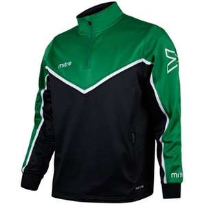 Mitre Primero 1/4 Zip Poly Top £6.99 + £4.99 delivery at direct soccer