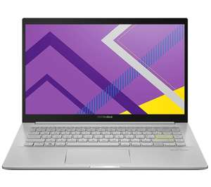 """ASUS VivoBook M431IA 14"""" Laptop - AMD Ryzen 7, 512 GB SSD, Silver - £584.10 delivered @ Currys PC World"""