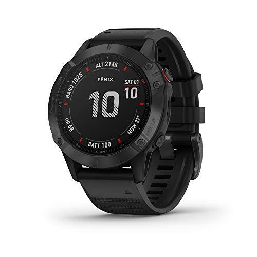 Garmin Fenix 6 Pro, Ultimate Multisport GPS Watch - £449.99 @ Amazon