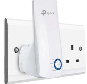 TP-Link TL-WA850RE N300 Universal Range Extender, Broadband/Wi-Fi Extender/Booster - £12.99 Prime / +£4.49 non Prime @ Amazon