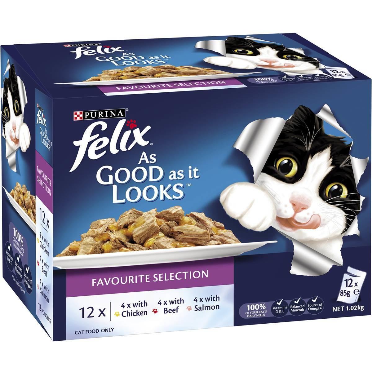 Felix (12x) Cat Food £3 Pets At Home