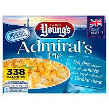 Young's Admiral's Pie 79p/ 190g SFC Poppets 59p/650g McCain Lightly Spiced Wedges 89p/ 750g Kingsmill Super Toasty 49p @ Farmfoods