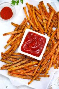1Kg Chef's Pantry Sweet Potato Fries are 99p instore @ Farmfoods