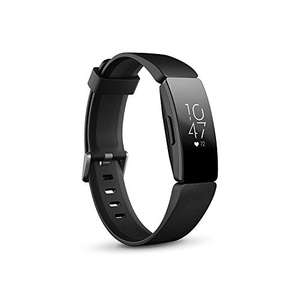 Fitbit Inspire HR Health & Fitness Tracker - Black, White or Lilac - £58.14 (£56.50 fee Free Card) Amazon France