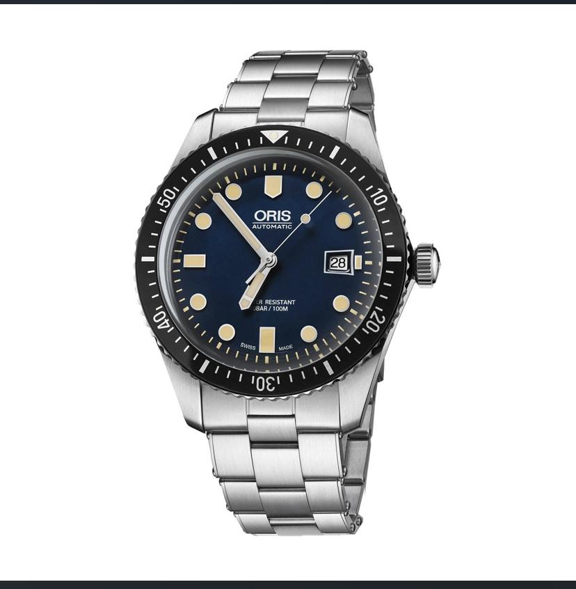 Oris Divers Sixty-Five 42mm Mens Watch 01 733 7720 4055-07 8 21 18 £844.80 using code @ Chrisholm Hunter