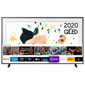 Samsung The Frame 2020 43 inch QLED TV with FREE Official Samsung Brown or Black Frame (only colours in stock for delivery) £679 @ Hughes