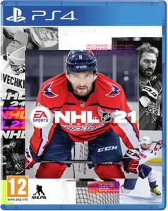 EA Sports NHL 21 Hockey (PS4 and Xbox One) - £32.99 @ Currys