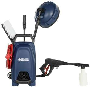 Spear & Jackson Pressure Washer - 1400W, £60 at Argos (Free click and collect)