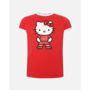 LFC Junior Hello Kitty Ringer Tee Red £3 +£3.99 delivery @ Liverpool FC