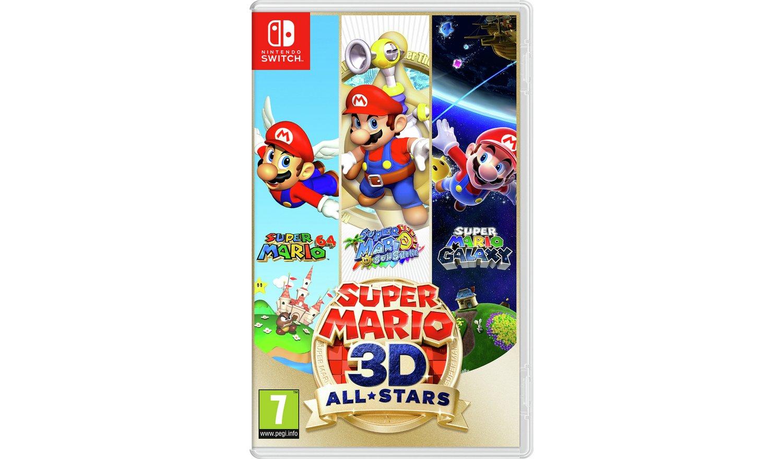 Super Mario 3D All Stars Nintendo Switch Game £39.99 (click & collect) @ Argos
