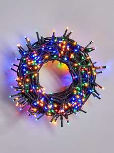 500 Multi Coloured Sparkle Indoor/Outdoor Christmas Lights - £21.99 + £3 Click and Collect @ Very