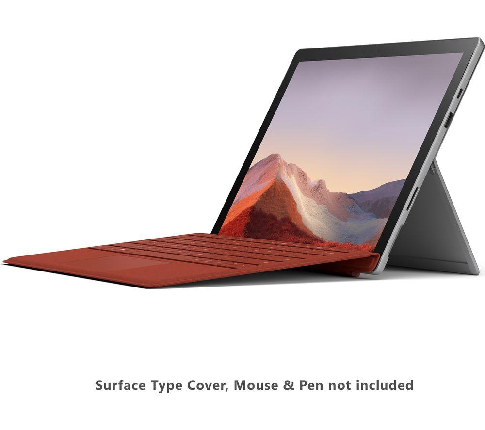 "MICROSOFT 12.3"" Surface Pro 7 - Intel® Core™ i5, 128 GB SSD, Platinum £759 @ Currys"