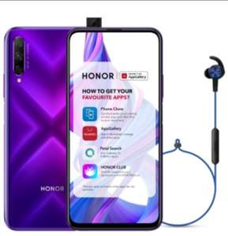 HONOR 9X PRO 6GB+256GB Phantom Purple Smartphone + Free Earphones - £179.99 With Code / Delivered @ Honor UK
