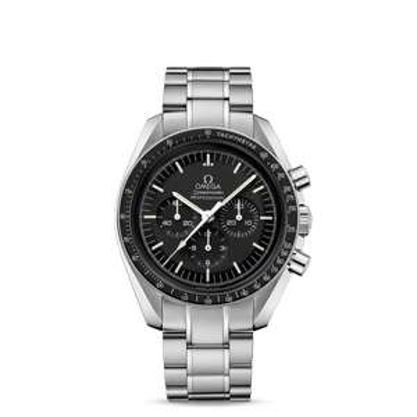 Omega Speedmaster Moonwatch Professional Chronograph Steel & Black 42mm - £3,408 with code @ Burrels