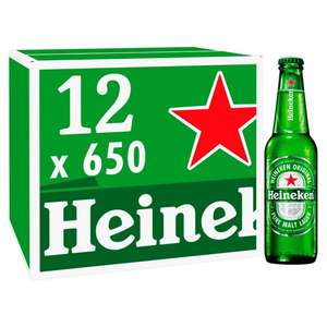 Heineken Imported 12 x 650Ml (Large Bottles) *Instore* Tesco (Macclesfield) For Just £9 - Great Tasting Imported Lager - Proof In Comments