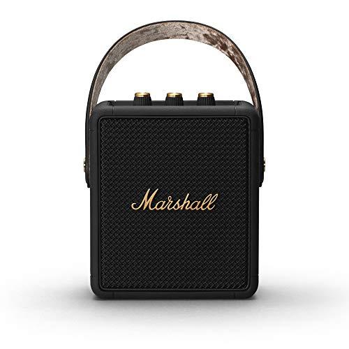 Marshall Stockwell II Portable Bluetooth Speaker - Black & Brass £115 @ Amazon