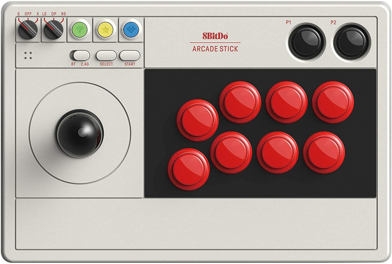8BitDo USB-C/Wireless Arcade Stick for Windows/Switch/Raspberry Pi £69.98 delivered @ Scan