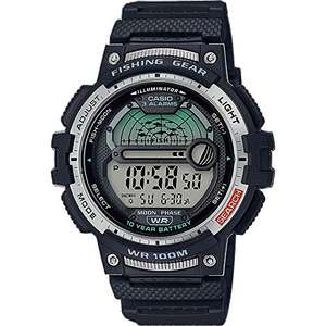 Casio Moon Phase Fishing Timer 46.6mm Men's Watch WS-1200H-1AVEF - £21.19 delivered @ Amazon