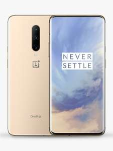 """OnePlus 7 Pro Smartphone, Android, 6.67"""", 4G LTE, SIM Free, 8GB RAM, 256GB, Almond - £399 Delivered @ John Lewis"""