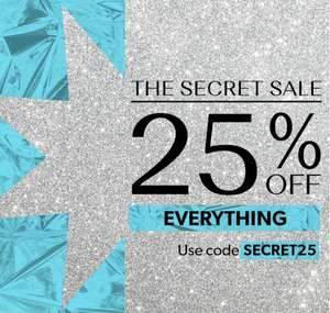 New look 25% off full priced items with code