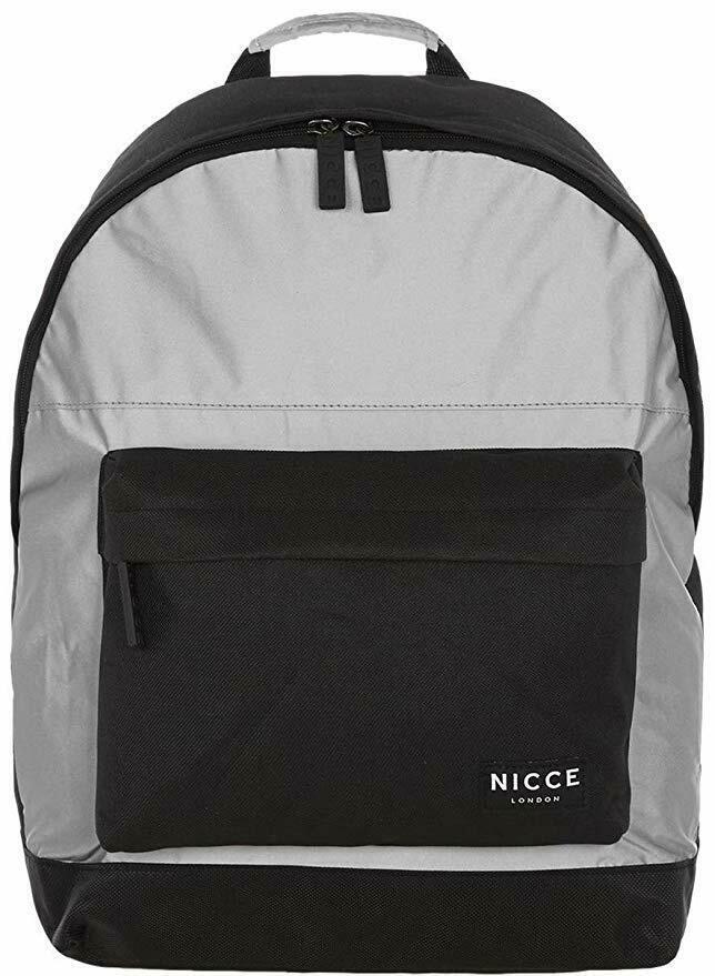 Nicce Curtis Black Reflective Backpack (NA15)£9.98 delivered with code at bigbrandoutlet2015 ebay
