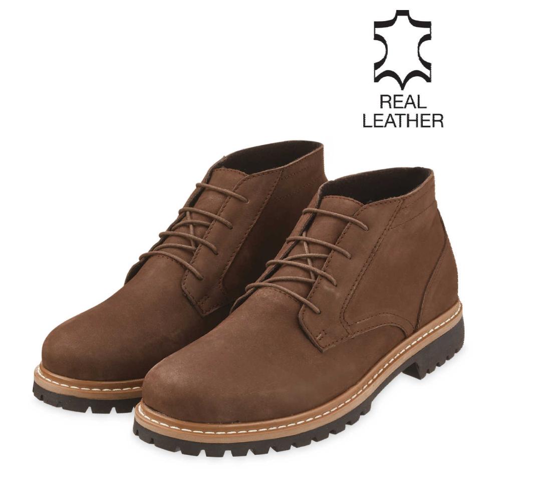 Avenue Men's Brown Desert Boots £17.99 +£2.95 delivery - Aldi