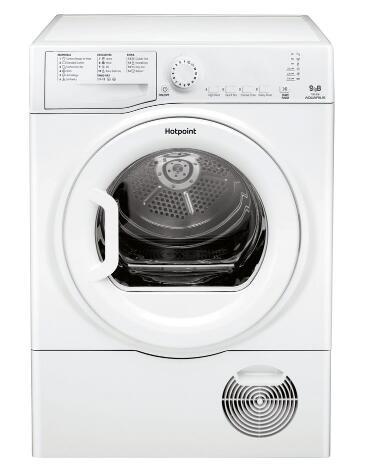 HOTPOINT Aquarius TCFS 93B GP 9 kg Condenser Tumble Dryer - White £219.99 at Currys PC World