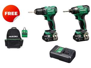 Hikoki DV12DD drill and WH12DD impact £199 @ UK Tool Centre