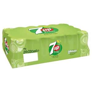 7up Free/Tango Orange/Lucozade Orange 24 x 330ml Can Cases are 2 for £12 @ Tesco From 23/11