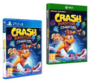 Crash Bandicoot 4: It's About Time - (PS4 / Xbox One) - £35 @ Tesco