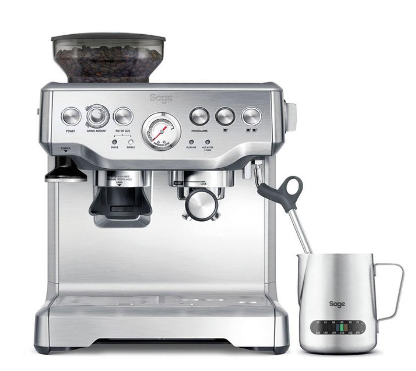 Sage Barista Express Bean to Cup Coffee Machine Including Milk Jug £484.99 at Costco
