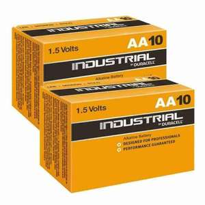 Duracell Industrial Procell Batteries MN1500 2400 Expiry 2029, 20 x AA/AAA, Free Delivery, Multibuy Available £7.65 @focalmart_uk / eBay