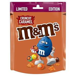 M&M's Crunchy Caramel Limited Edition Pouch 109gm £1.25 (+£4.49 NP) or £1.19 (S&S) Delivered @ Amazon