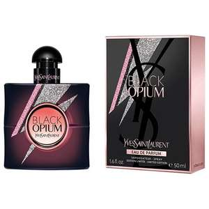 YVES SAINT LAURENT Black Opium Storm Illusion Eau de Parfum for her Now £38.34 with code +Free Delivery From The Perfume Shop