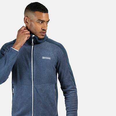Regatta Men's Madagascar Full Zip Heavyweight Hooded Fleece Blue (S / XL / XXL) - £16.20 delivered at Regatta ebay