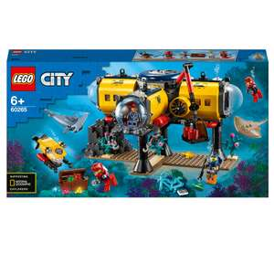 LEGO City Oceans: Ocean Exploration Base (60265) £43.19 at I Want One of Those