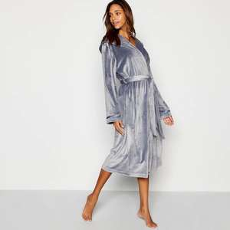 Ted baker Grey Moleskin dressing gown £18 @ Debenhams + Hermes ParcelShop collect £1.99