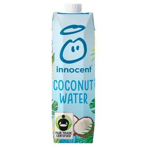 Innocent Coconut Water 1L for £1.84 (Clubcard Price) @ Tesco