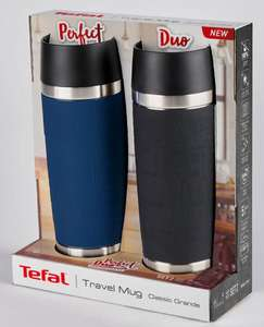 2 Pack in 2 Colours - Tefal Double Wall Vacuum Insulated Stainless Steel 500ml Travel Mugs,- £11.98 (23/11/2020 Only) @ Costco instore
