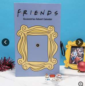 Friends Accessories Advent Calendar £10.79 + £3.95 delivery @ Truffle shuffle