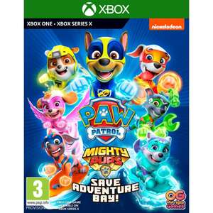 Paw Patrol Mighty Pups Save Adventure Bay! XBox, Nintendo Switch and PS4 at The Game Collection £25.95