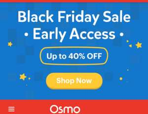 Osmo - Black Friday Sale. Up to 40% off (compatible with iPad/Fire devices)